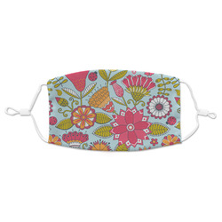 Wild Flowers Adult Cloth Face Mask (Personalized)