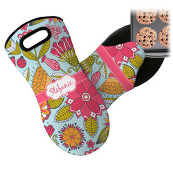 Wild Flowers Neoprene Oven Mitt (Personalized)