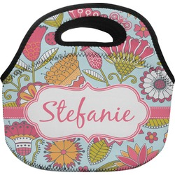 Wild Flowers Lunch Bag (Personalized)