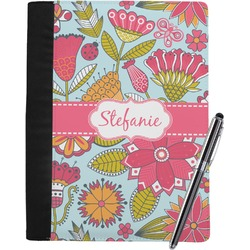 Wild Flowers Notebook Padfolio (Personalized)