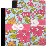 Wild Flowers Notebook Padfolio w/ Name or Text