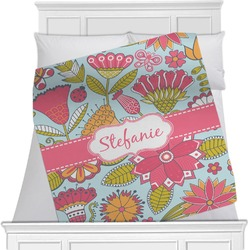 Wild Flowers Blanket (Personalized)