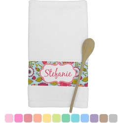 Wild Flowers Kitchen Towel (Personalized)