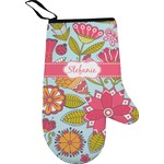 Wild Flowers Oven Mitt (Personalized)