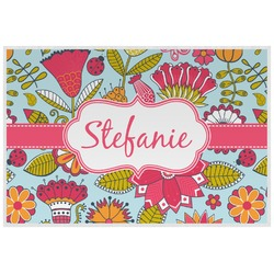 Wild Flowers Placemat (Laminated) (Personalized)