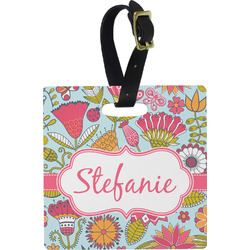 Wild Flowers Luggage Tags (Personalized)