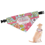 Wild Flowers Dog Bandana (Personalized)