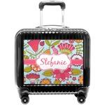 Wild Flowers Pilot / Flight Suitcase (Personalized)