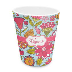 Wild Flowers Plastic Tumbler 6oz (Personalized)