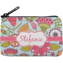 Wild Flowers Rectangular Coin Purse (Personalized)