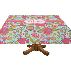 """Wild Flowers Tablecloth - 58""""x102"""" (Personalized)"""