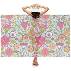 Wild Flowers Sheer Sarong (Personalized)