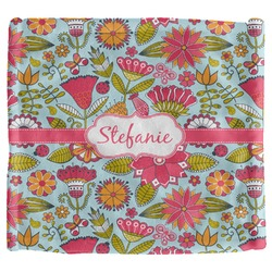 Wild Flowers Security Blanket (Personalized)