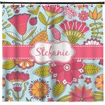 Wild Flowers Shower Curtain (Personalized)