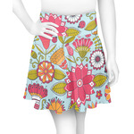 Wild Flowers Skater Skirt (Personalized)