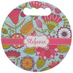 Wild Flowers Stadium Cushion (Round) (Personalized)