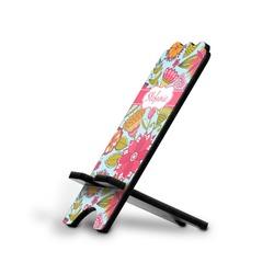 Wild Flowers Stylized Phone Stand (Personalized)