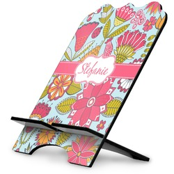 Wild Flowers Stylized Tablet Stand (Personalized)