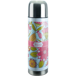 Wild Flowers Stainless Steel Thermos (Personalized)
