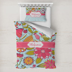 Wild Flowers Toddler Bedding w/ Name or Text
