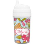 Wild Flowers Sippy Cup (Personalized)