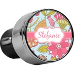 Wild Flowers USB Car Charger (Personalized)