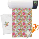Wild Flowers Heat Transfer Vinyl Sheet (12