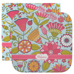Wild Flowers Facecloth / Wash Cloth (Personalized)