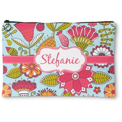 Wild Flowers Zipper Pouch (Personalized)