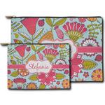 Wild Flowers Zipper Pouch (Personalized)