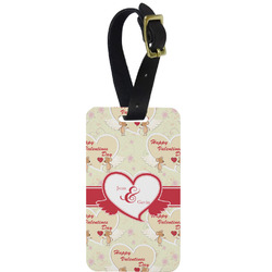 Mouse Love Aluminum Luggage Tag (Personalized)