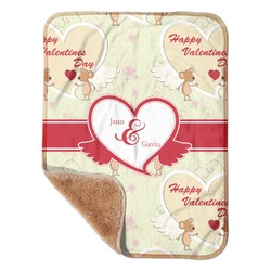 """Mouse Love Sherpa Baby Blanket 30"""" x 40"""" (Personalized)"""