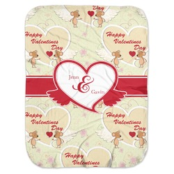 Mouse Love Baby Swaddling Blanket (Personalized)