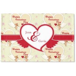 Mouse Love Woven Mat (Personalized)
