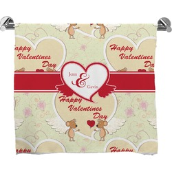 Mouse Love Full Print Bath Towel (Personalized)