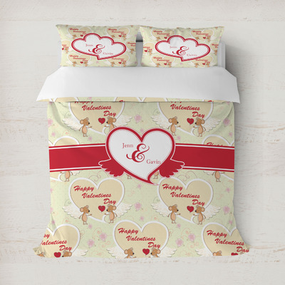 Mouse Love Duvet Cover (Personalized)