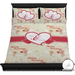 Mouse Love Duvet Cover Set (Personalized)