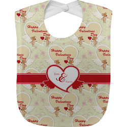 Mouse Love Baby Bib (Personalized)