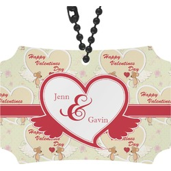 Mouse Love Rear View Mirror Ornament (Personalized)