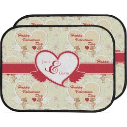 Mouse Love Car Floor Mats (Back Seat) (Personalized)