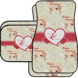 Mouse Love Car Floor Mats Set - 2 Front & 2 Back (Personalized)