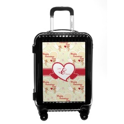 Mouse Love Carry On Hard Shell Suitcase (Personalized)