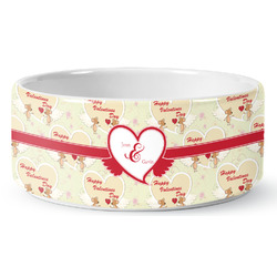 Mouse Love Ceramic Pet Bowl (Personalized)