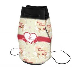 Mouse Love Neoprene Drawstring Backpack (Personalized)