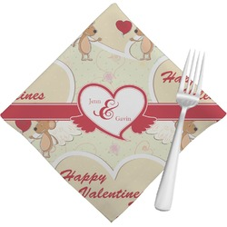 Mouse Love Cloth Napkins (Set of 4) (Personalized)