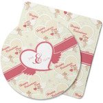 Mouse Love Rubber Backed Coaster (Personalized)