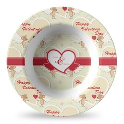 Mouse Love Plastic Bowl - Microwave Safe - Composite Polymer (Personalized)