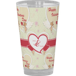 Mouse Love Drinking / Pint Glass (Personalized)