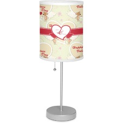 "Mouse Love 7"" Drum Lamp with Shade (Personalized)"