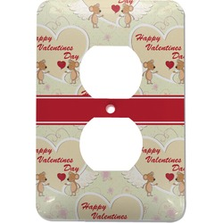 Mouse Love Electric Outlet Plate (Personalized)